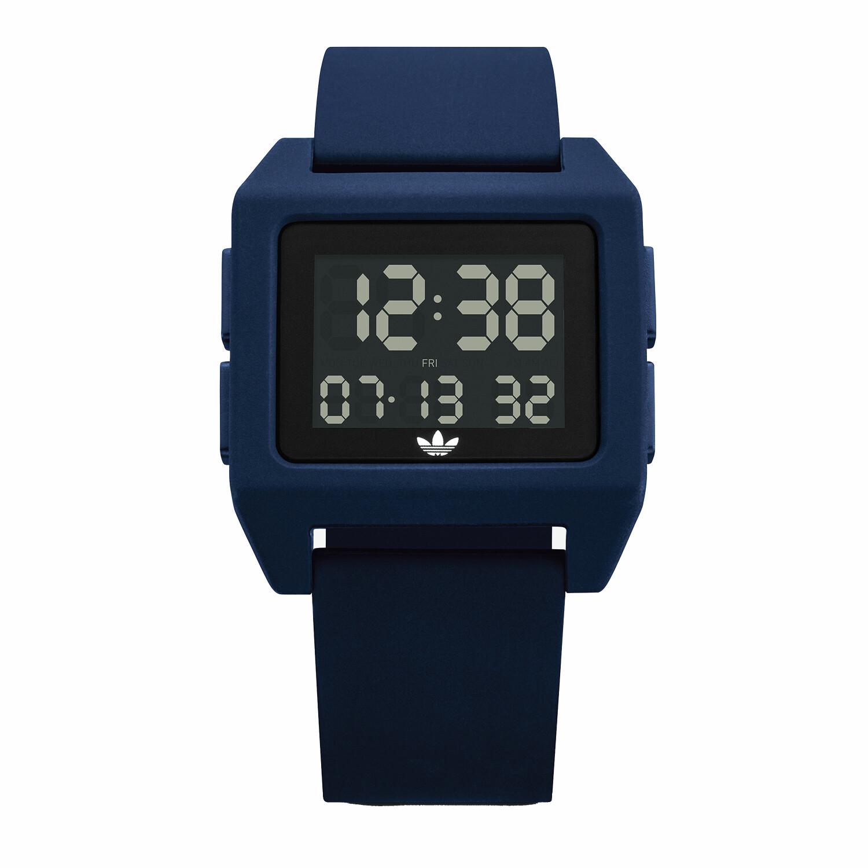 Adidas Men's Archive Sp1 Z15 3203-00 Blue Silicone Quartz Fashion Watch