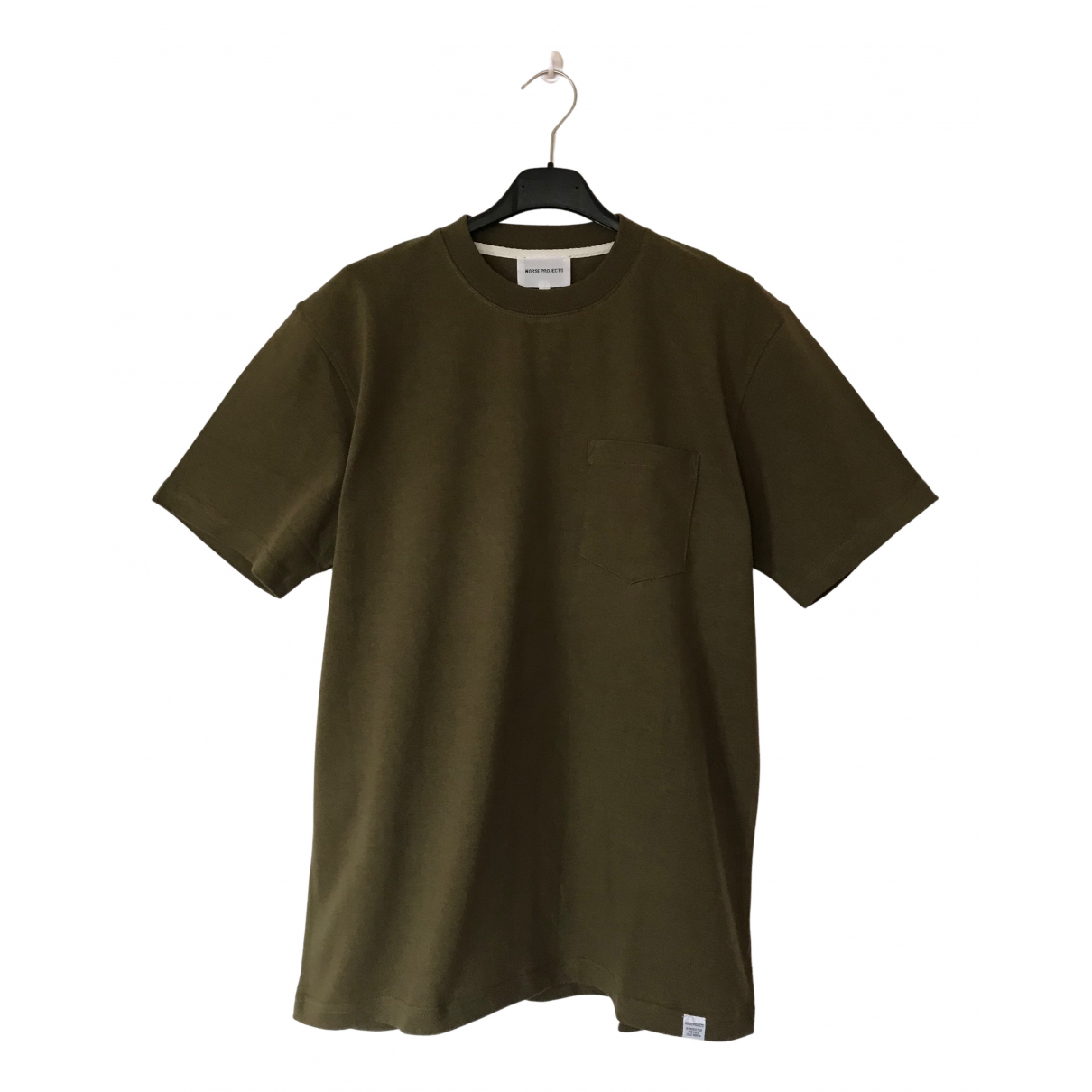Norse Projects \N Green Cotton T-shirts for Men M International