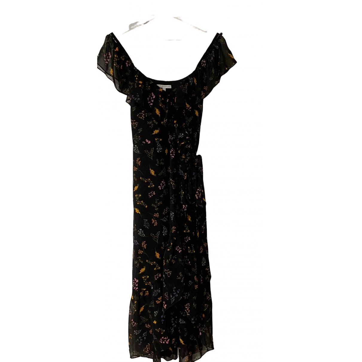 Rebecca Minkoff \N Kleid in  Schwarz Polyester