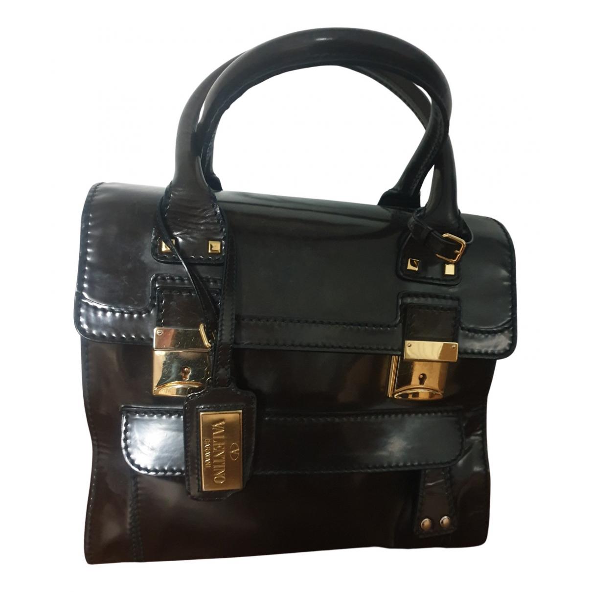 Valentino Garavani N Brown Leather handbag for Women N