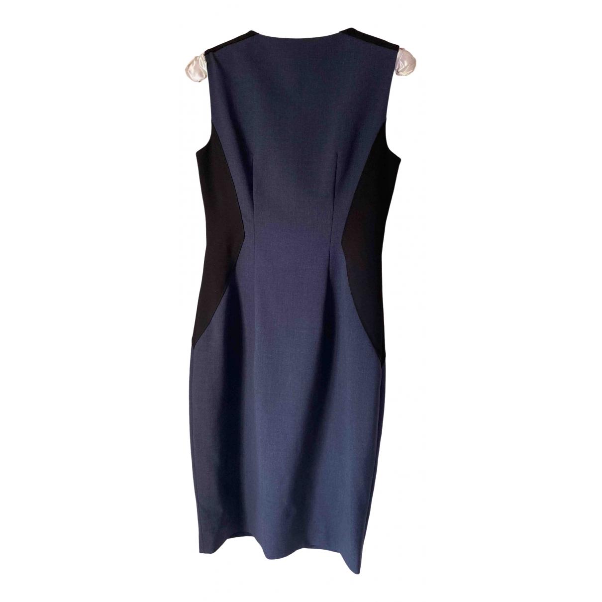 Elie Tahari \N Kleid in  Grau Wolle