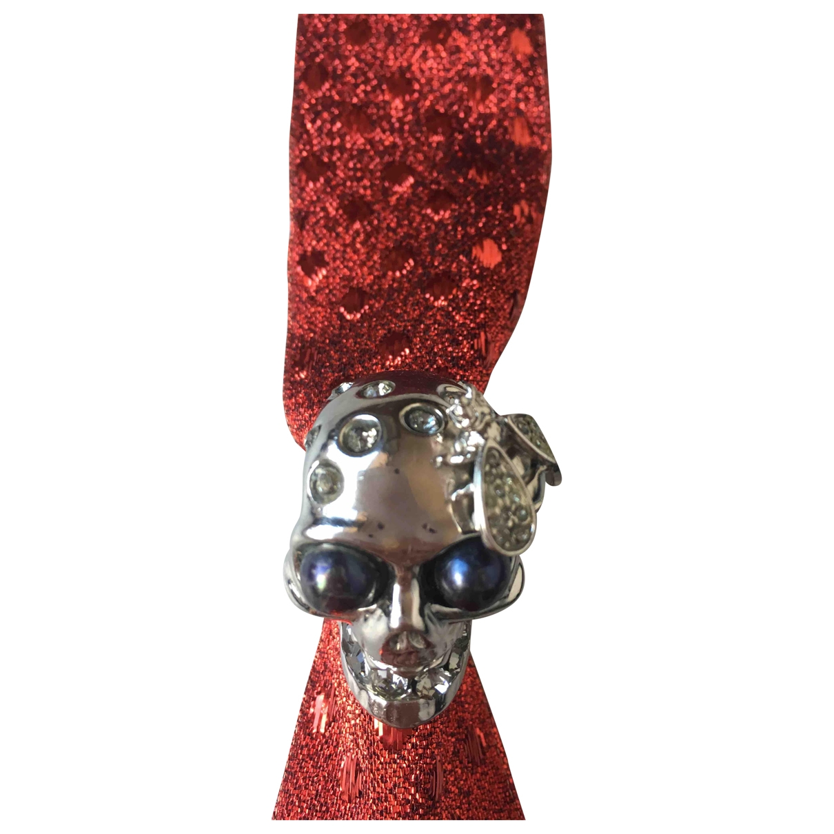 Alexander Mcqueen \N Silver Metal ring for Women 65 EU