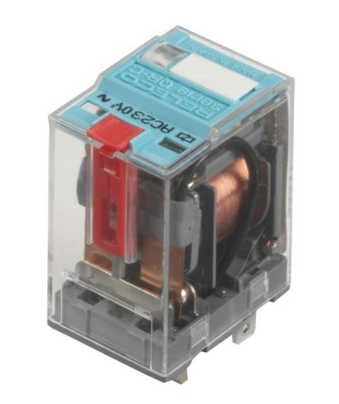 Turck DPDT Plug In Non-Latching Relay - 16 A, 24V dc For Use In General Purpose Applications