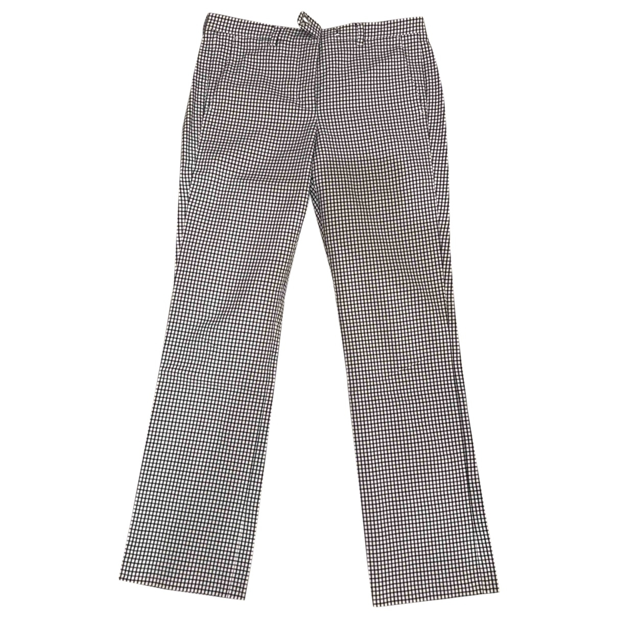 Max Mara 's \N Cotton Trousers for Women 36 FR