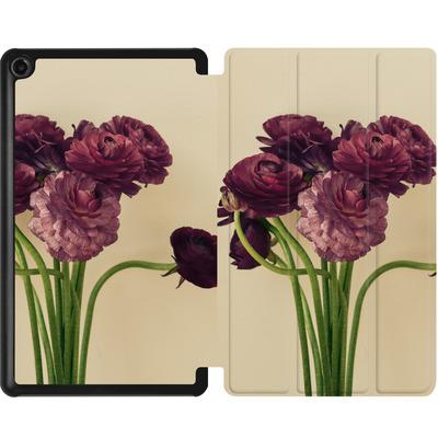 Amazon Fire 7 (2017) Tablet Smart Case - Purple Ranunculus 4 von Joy StClaire