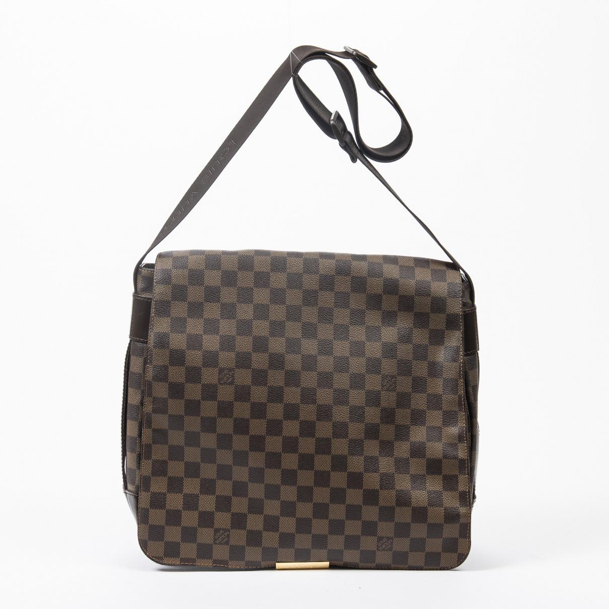 Louis Vuitton - Sac a main Bastille pour femme en cuir - marron