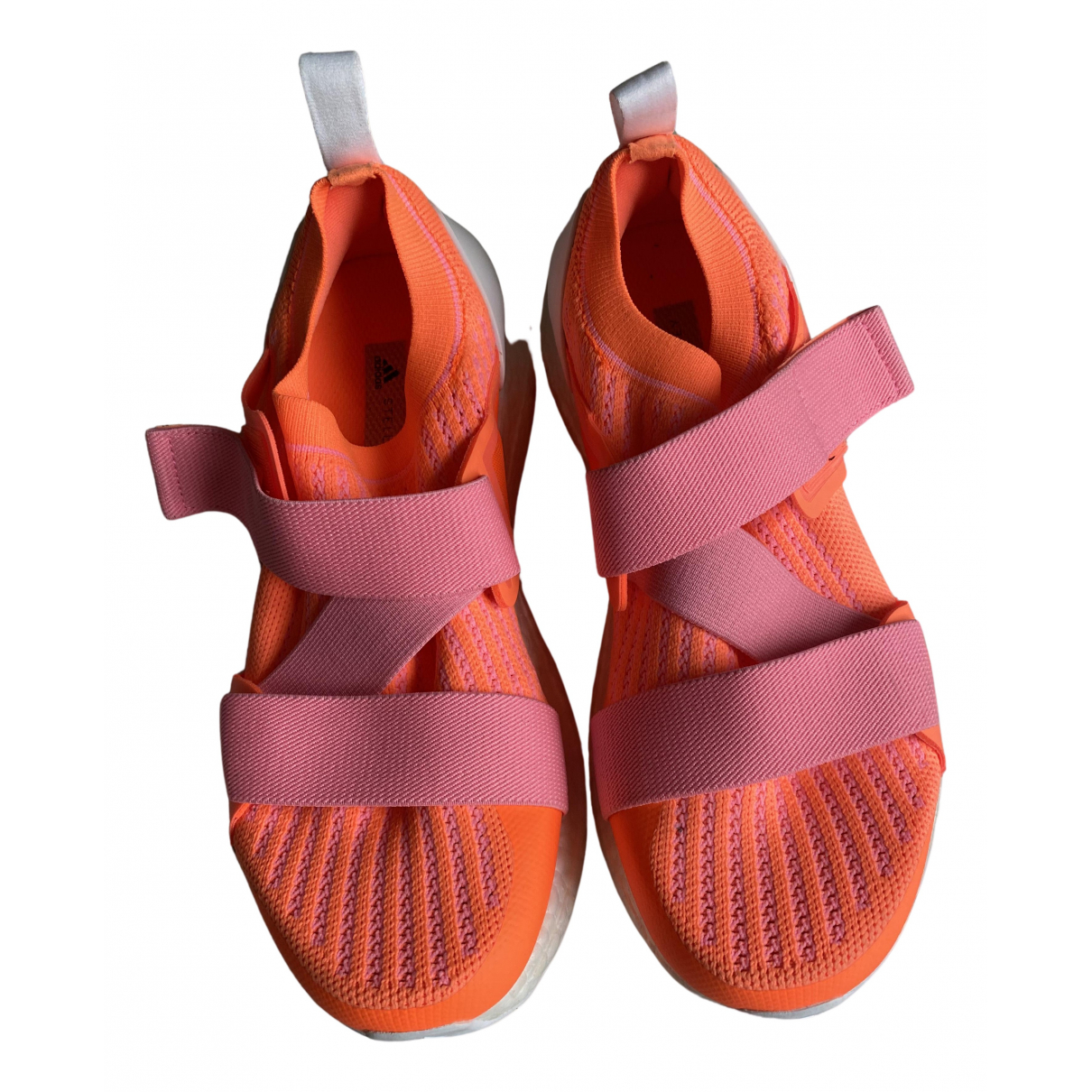 Stella Mccartney Pour Adidas \N Sneakers in  Orange Kautschuk