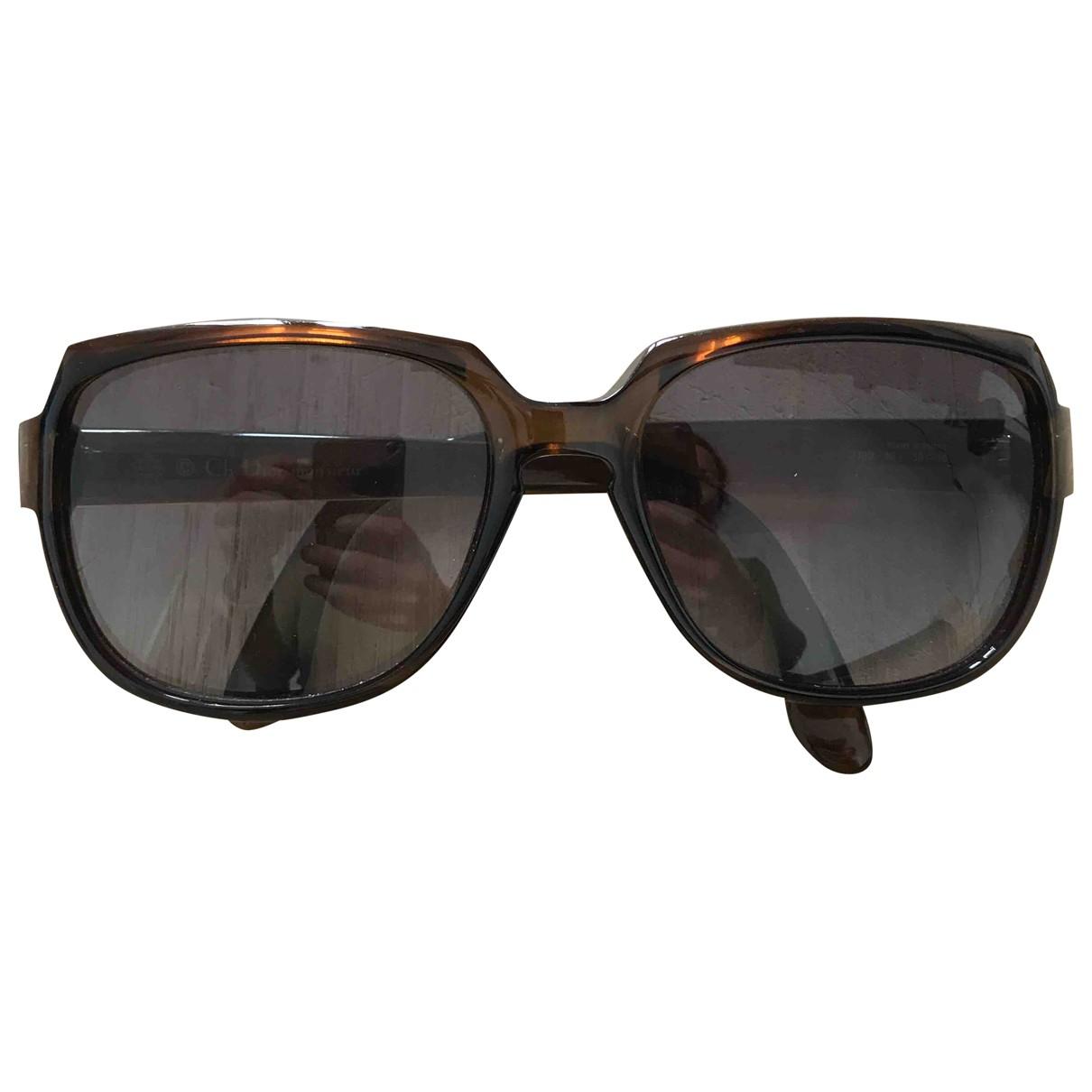 Christian Dior - Lunettes   pour homme - marron