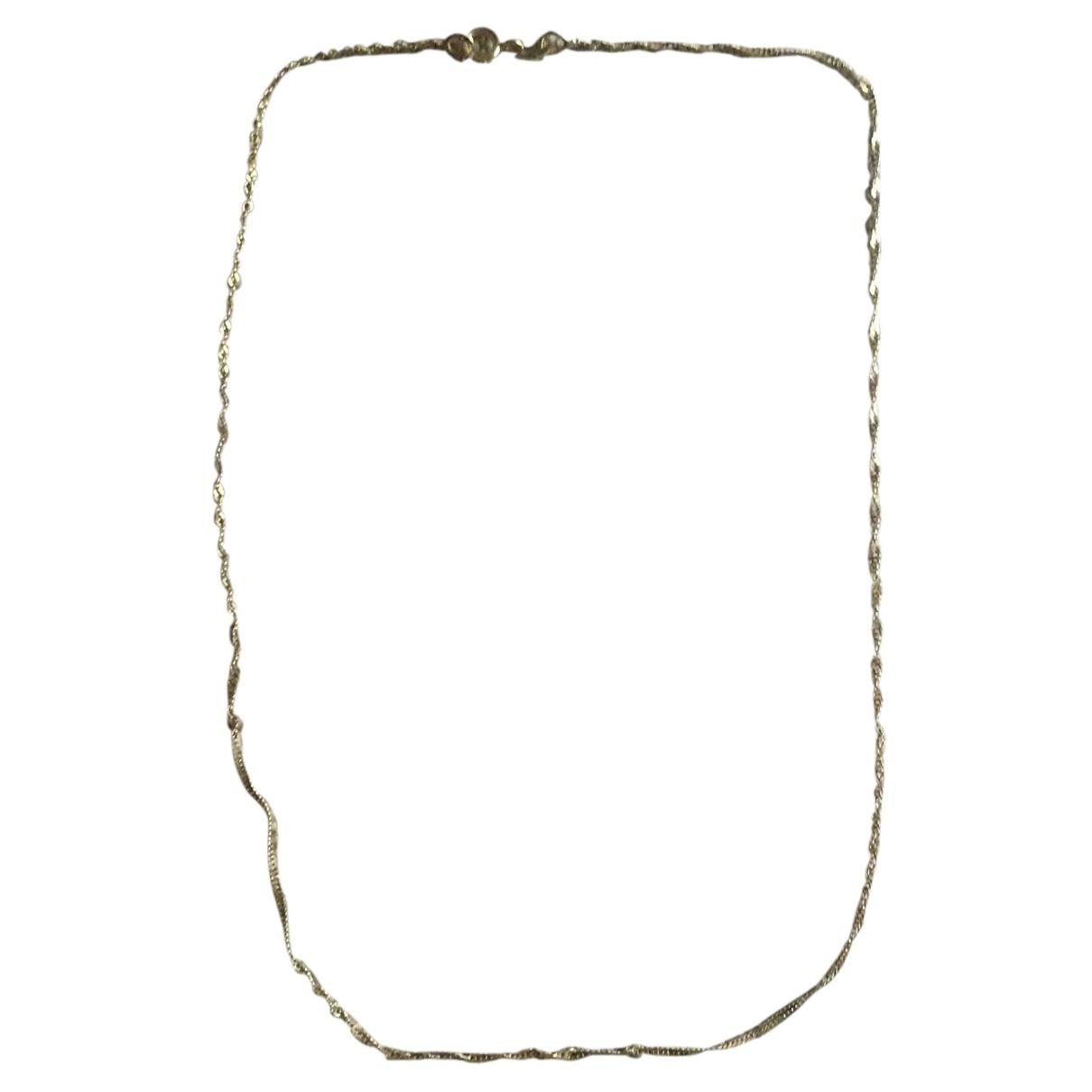 - Collier Chaines pour femme en or jaune - dore