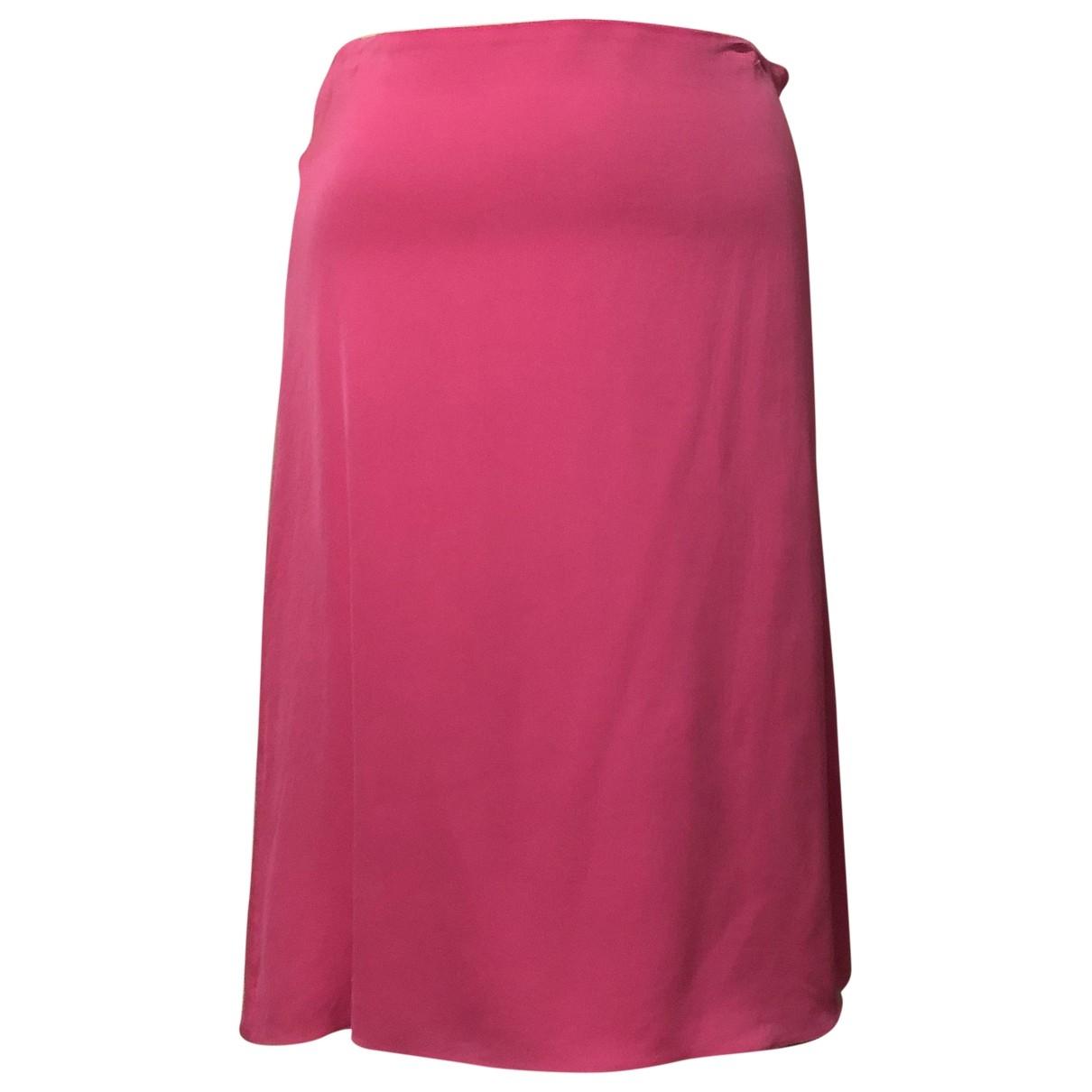 Lanvin \N Pink Silk skirt for Women 36 FR