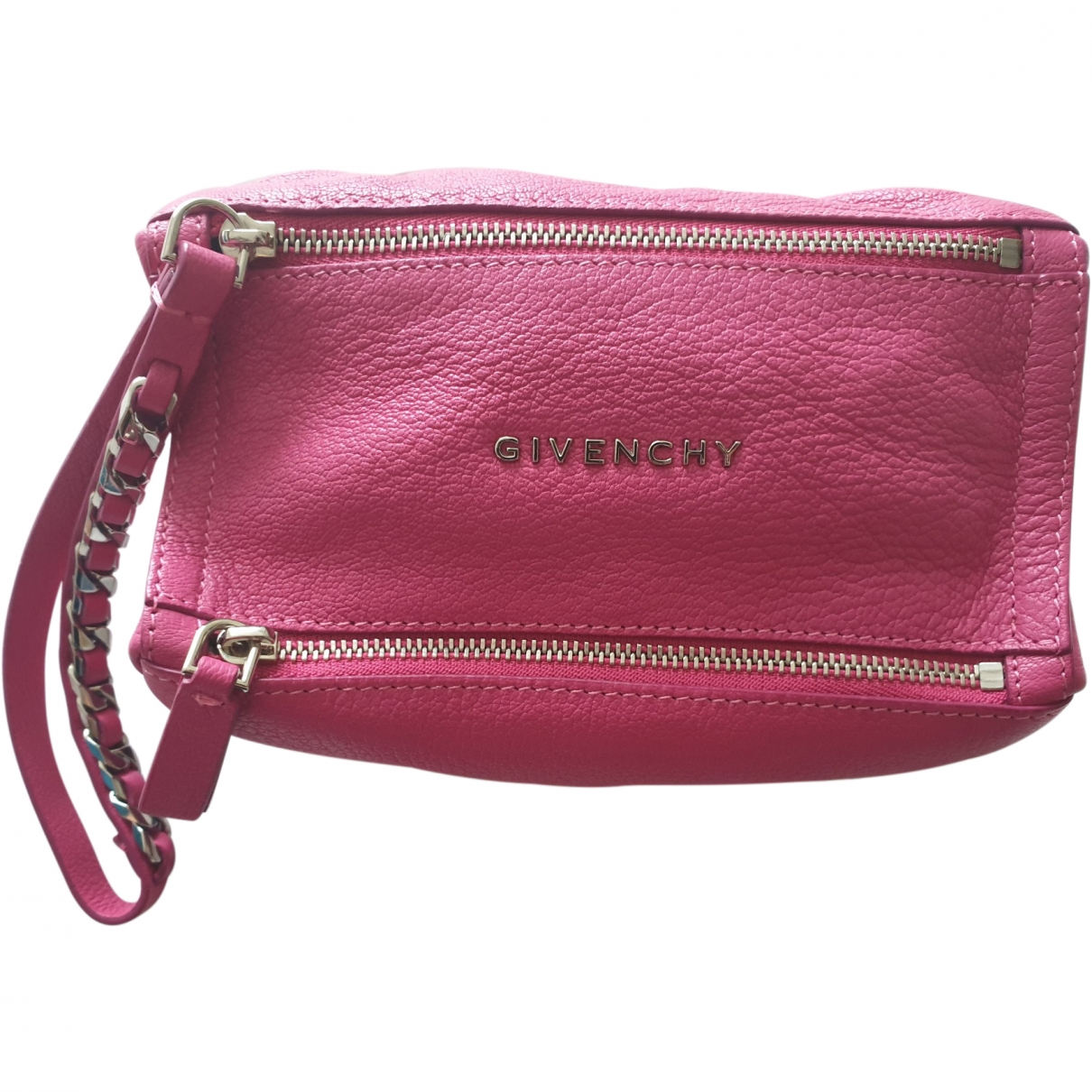 Givenchy Pandora Pink Leather Clutch bag for Women \N