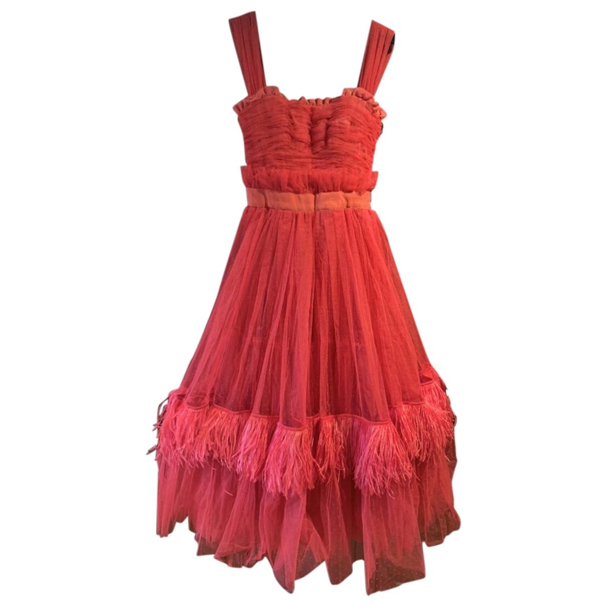Dolce & Gabbana \N Red dress for Women 38 IT