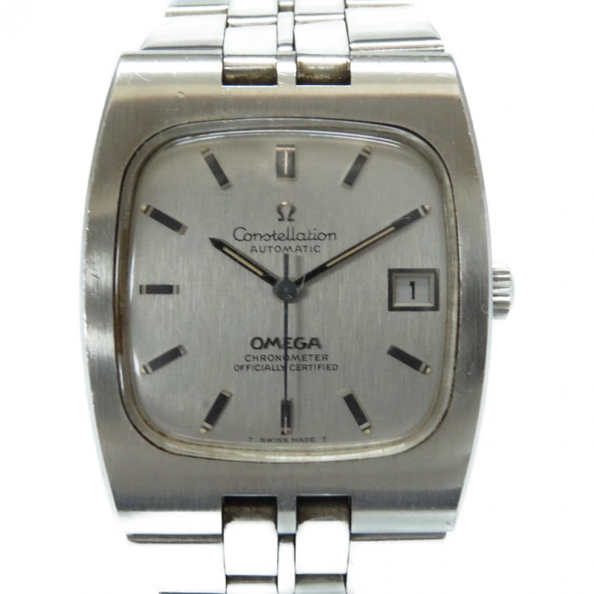 Omega Constellation Silver Steel watch for Men \N