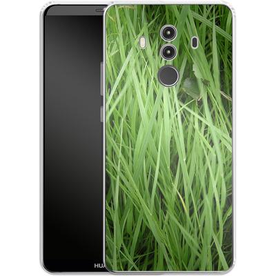 Huawei Mate 10 Pro Silikon Handyhuelle - Grass von caseable Designs