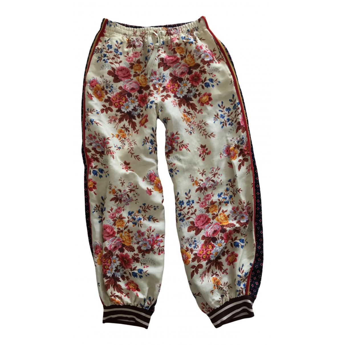 Pantalon largo de Lino Gucci