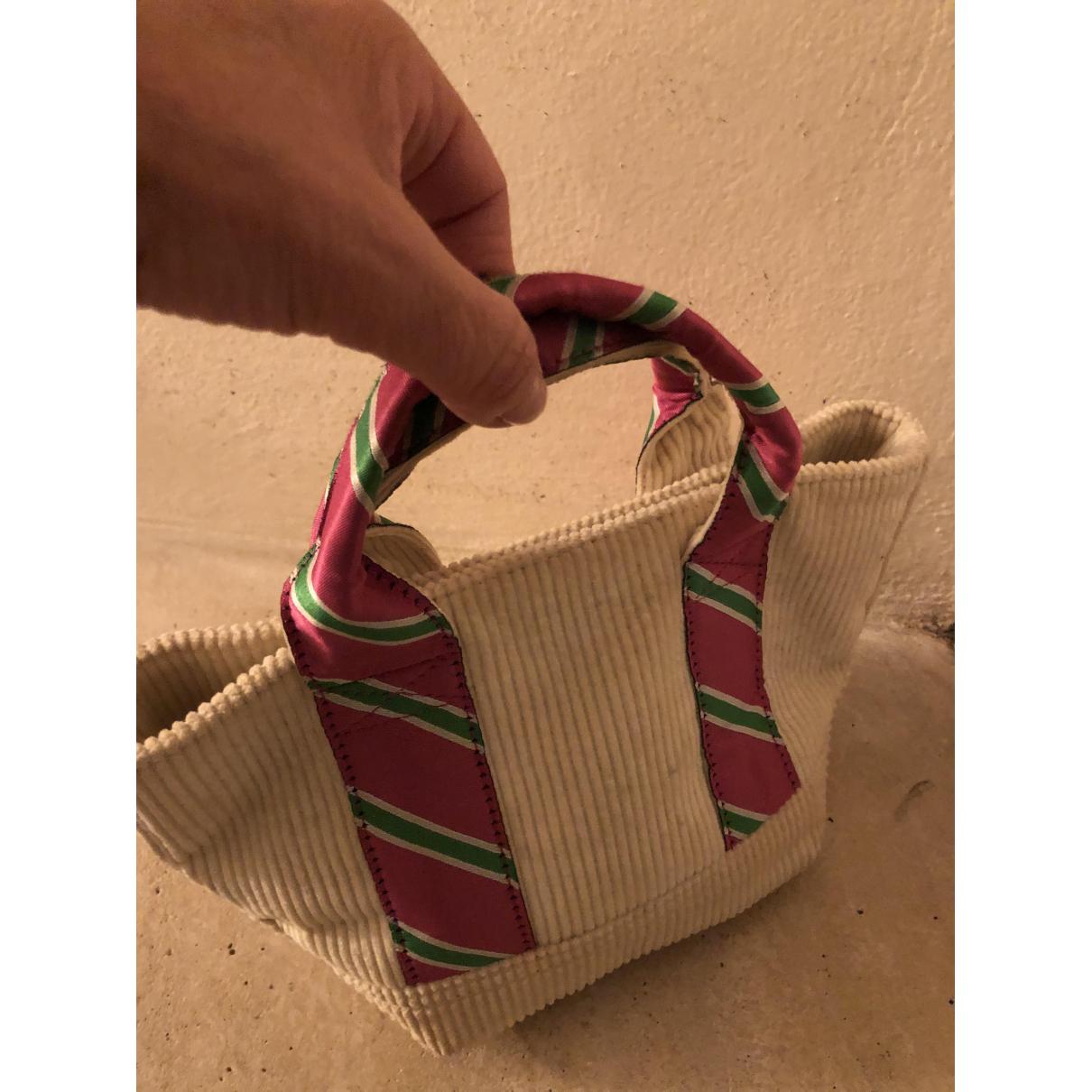 Ralph Lauren N White Velvet handbag for Women N