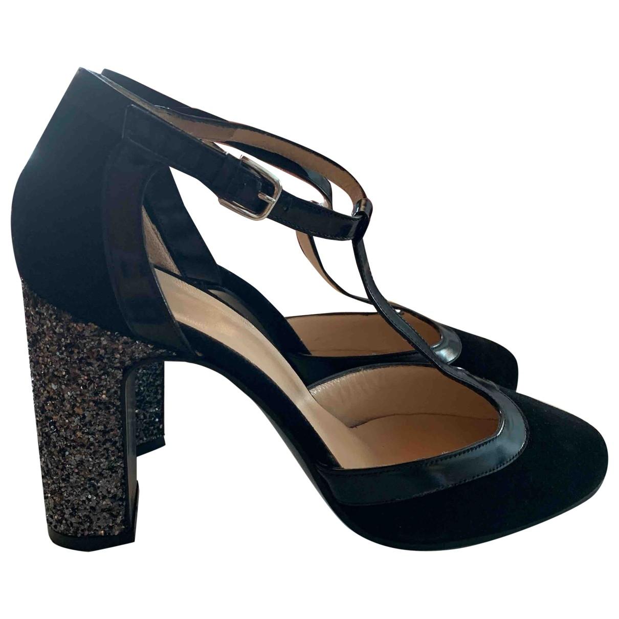 Roberto Festa - Escarpins   pour femme en cuir - noir
