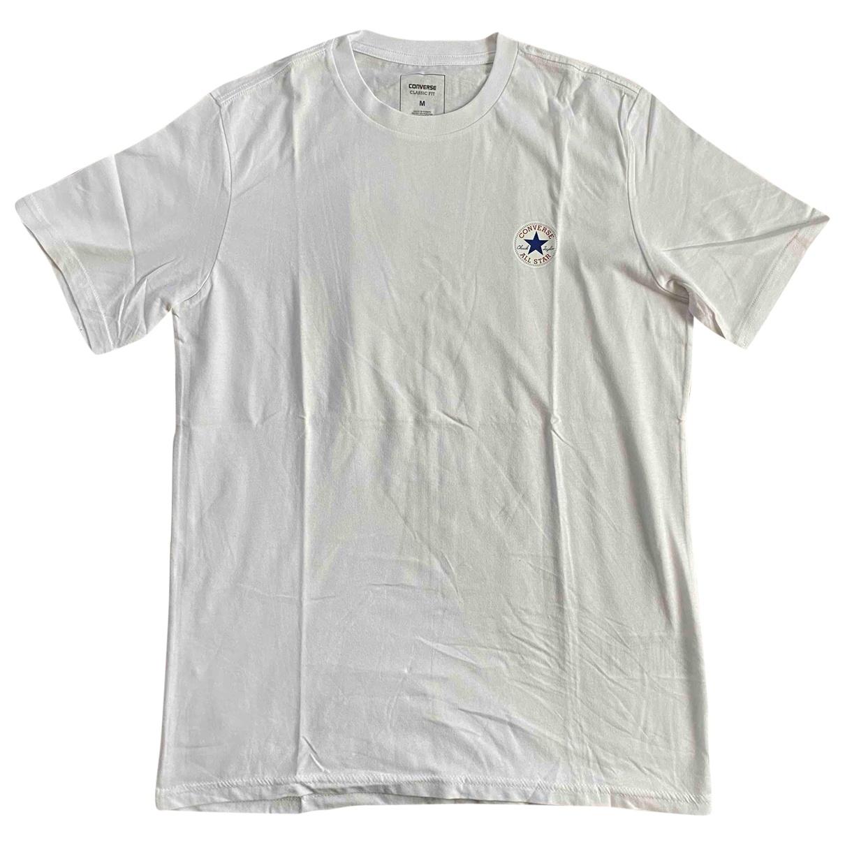 Converse \N White Cotton T-shirts for Men M International
