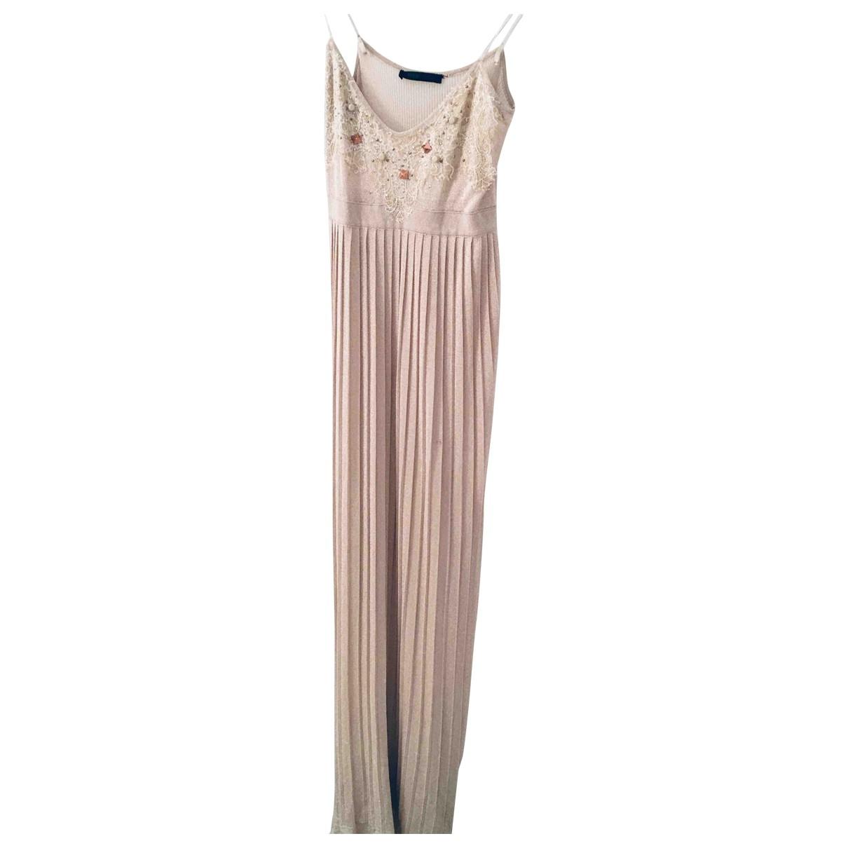 Pinko \N Beige Cotton dress for Women M International