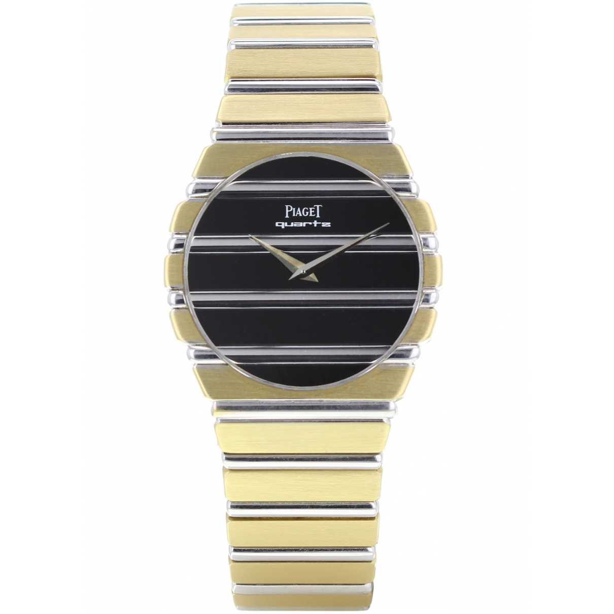 Piaget \N Black gold and steel watch for Men \N