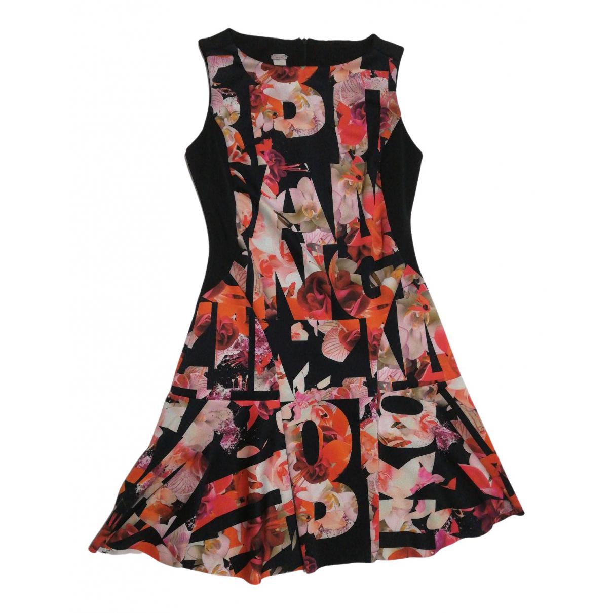 Pinko \N Kleid in  Bunt Baumwolle