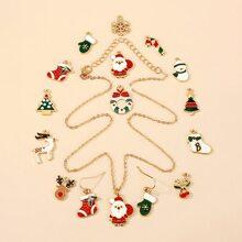 Set joya DIY de Navidad