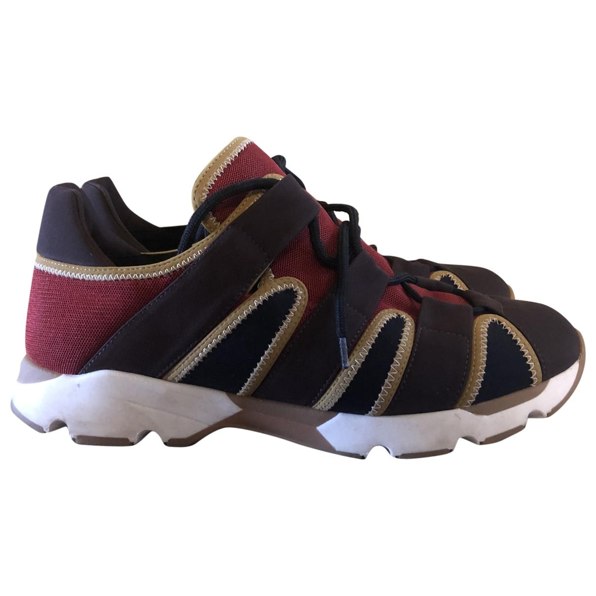 Marni \N Sneakers in  Bunt Leinen