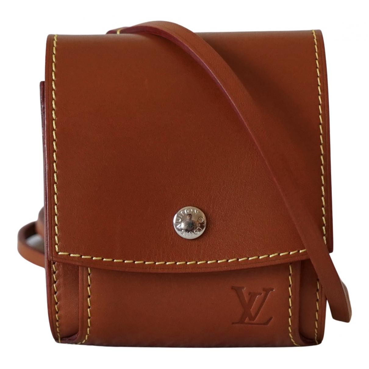 Louis Vuitton N Camel Leather handbag for Women N