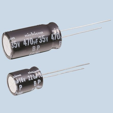 Nichicon 22μF Electrolytic Capacitor 100V dc, Through Hole - UEP2A220MPD (5)