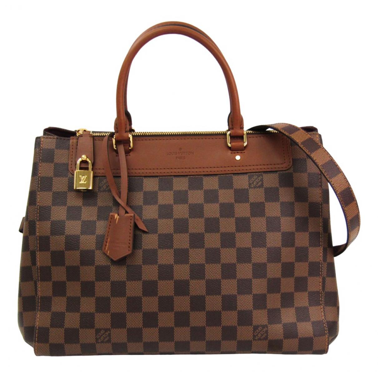 Louis Vuitton Greenwich Brown Cloth handbag for Women N