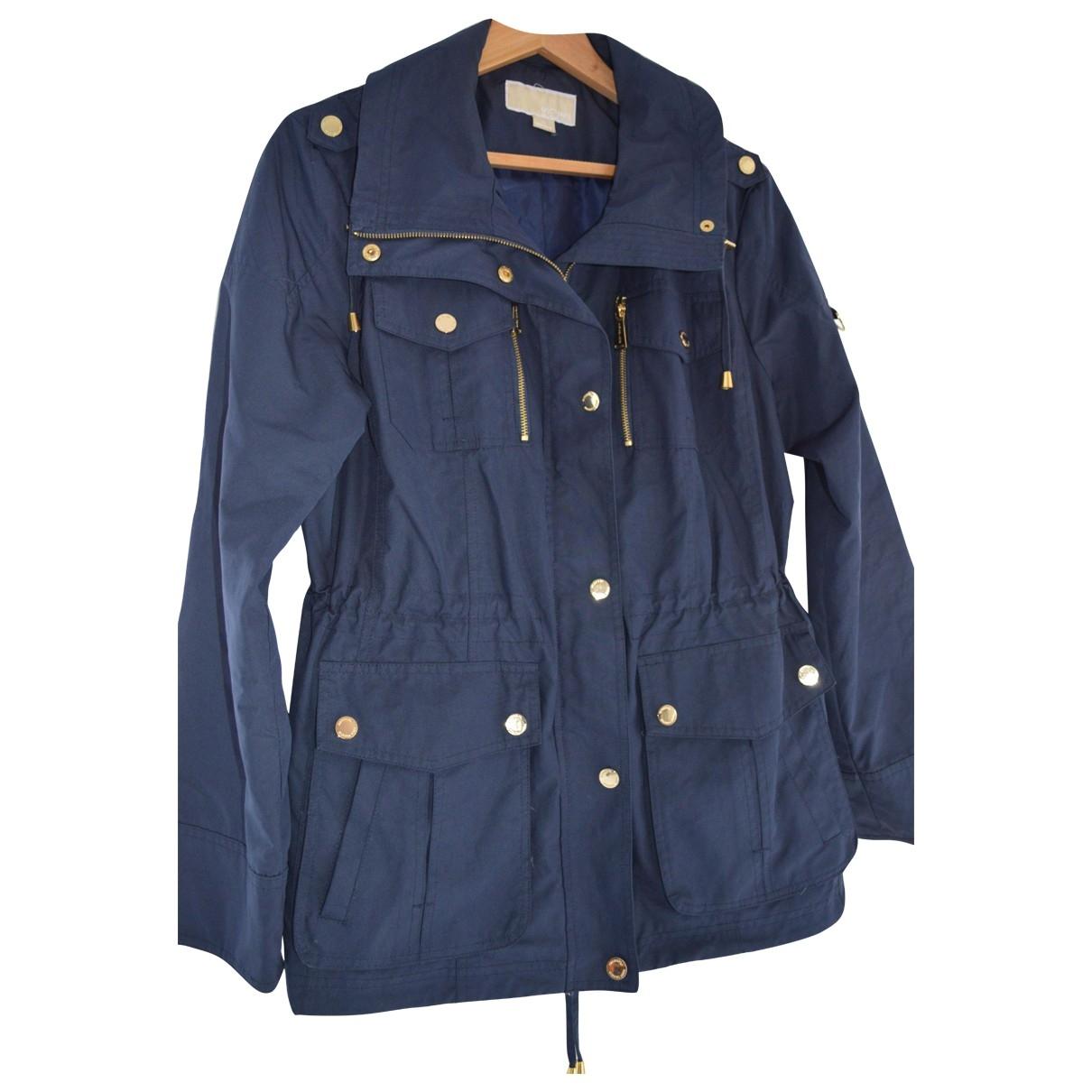 Michael Kors - Manteau   pour femme - bleu