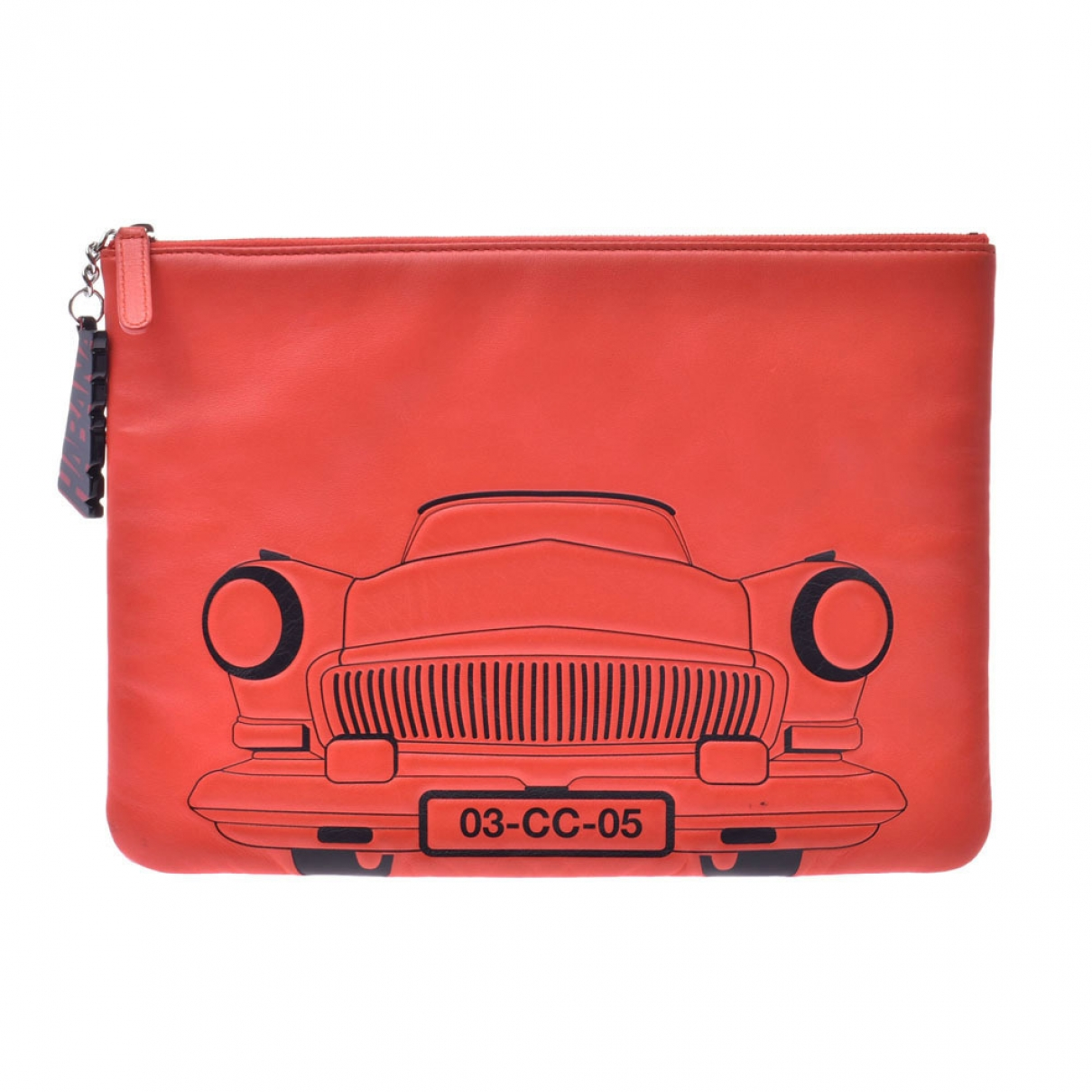 Chanel \N Red Leather Clutch bag for Women \N