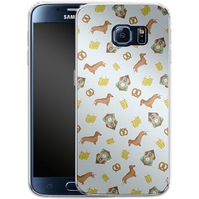 Samsung Galaxy S6 Silikon Handyhuelle - Germany von caseable Designs