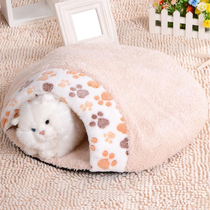 Comfortable Waterproof Sleeping Warming Pet For Cat Bed