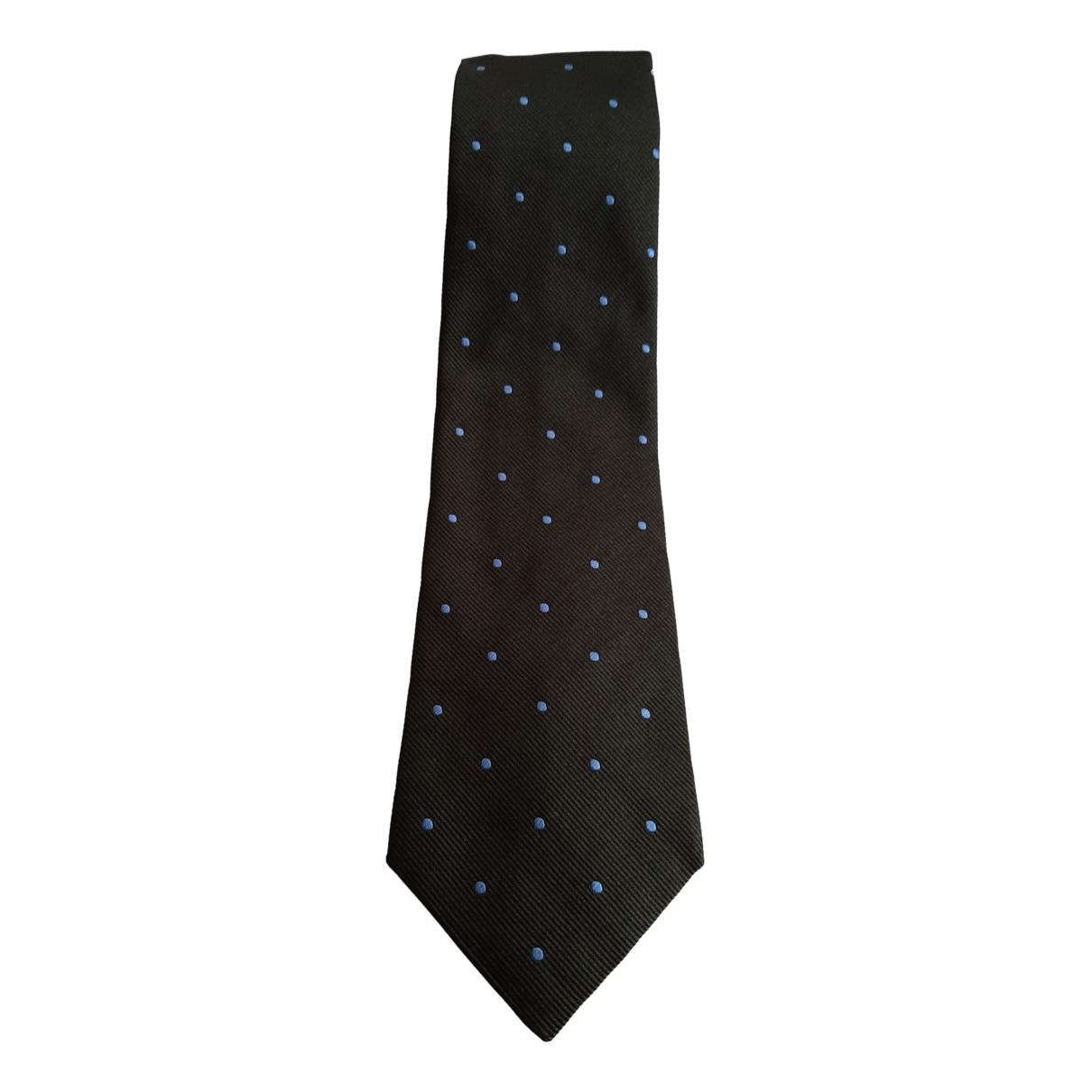 Versace \N Krawatten in  Gruen Seide