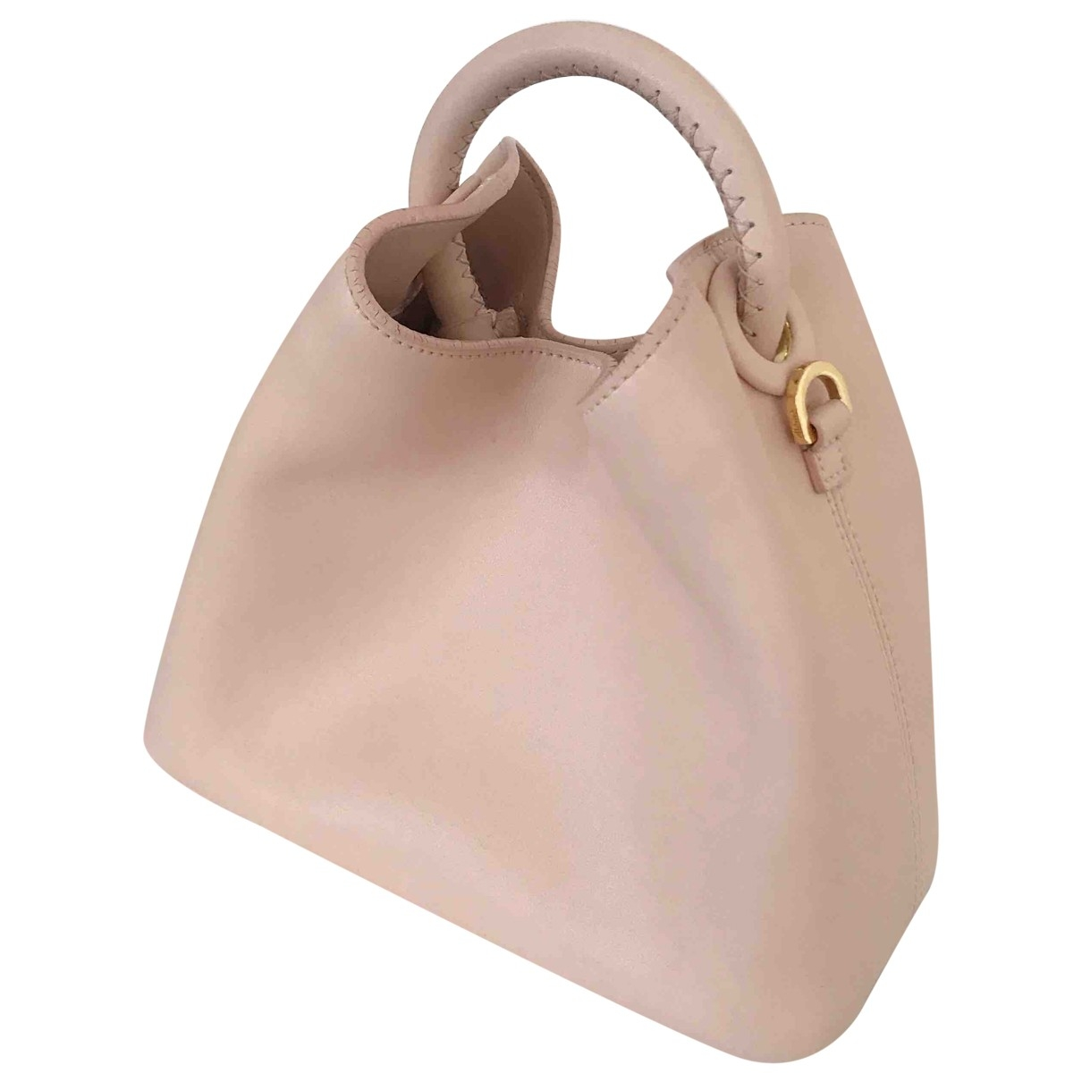 Elleme \N Pink Leather handbag for Women \N
