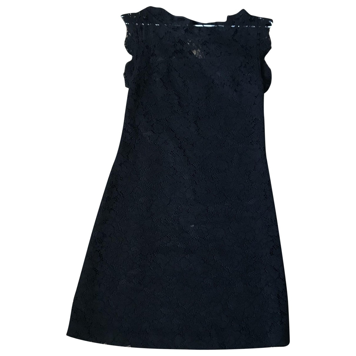 Claudie Pierlot \N Black Cotton dress for Women 34 FR
