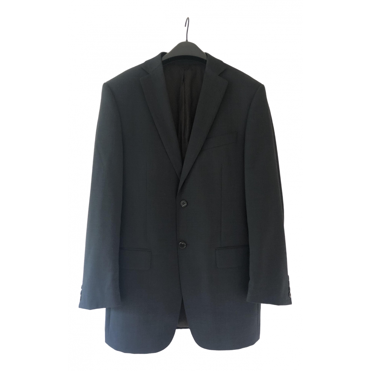 Non Signé / Unsigned \N Blue Wool Suits for Men 48 FR