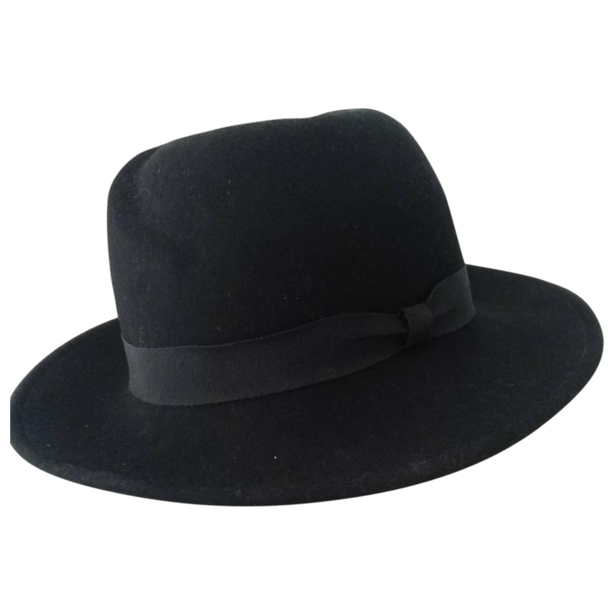 - Chapeau   pour femme en laine - noir
