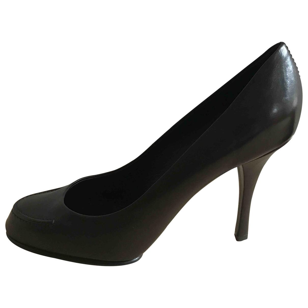 Louis Vuitton \N Brown Leather Heels for Women 40 EU