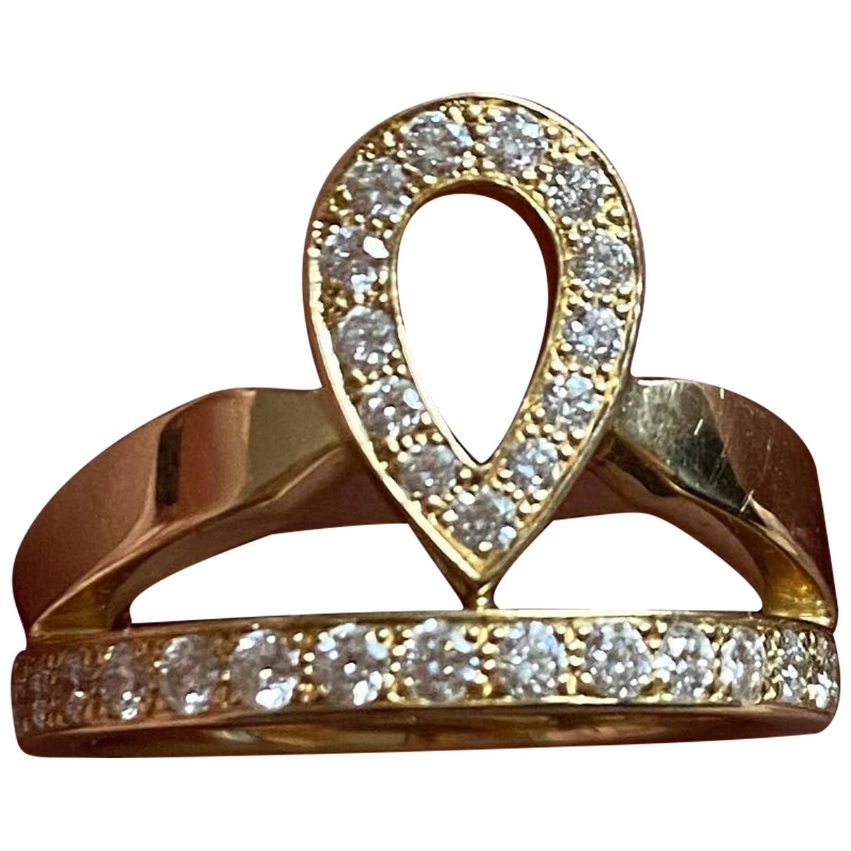 Chaumet - Bague Josephine pour femme en or jaune - dore