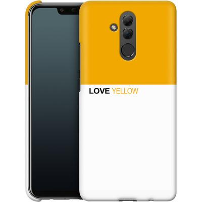 Huawei Mate 20 Lite Smartphone Huelle - LoveYellow von caseable Designs