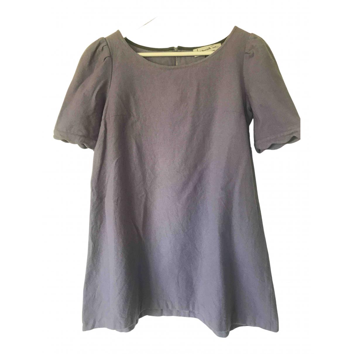 Tara Jarmon \N Kleid in  Lila Wolle