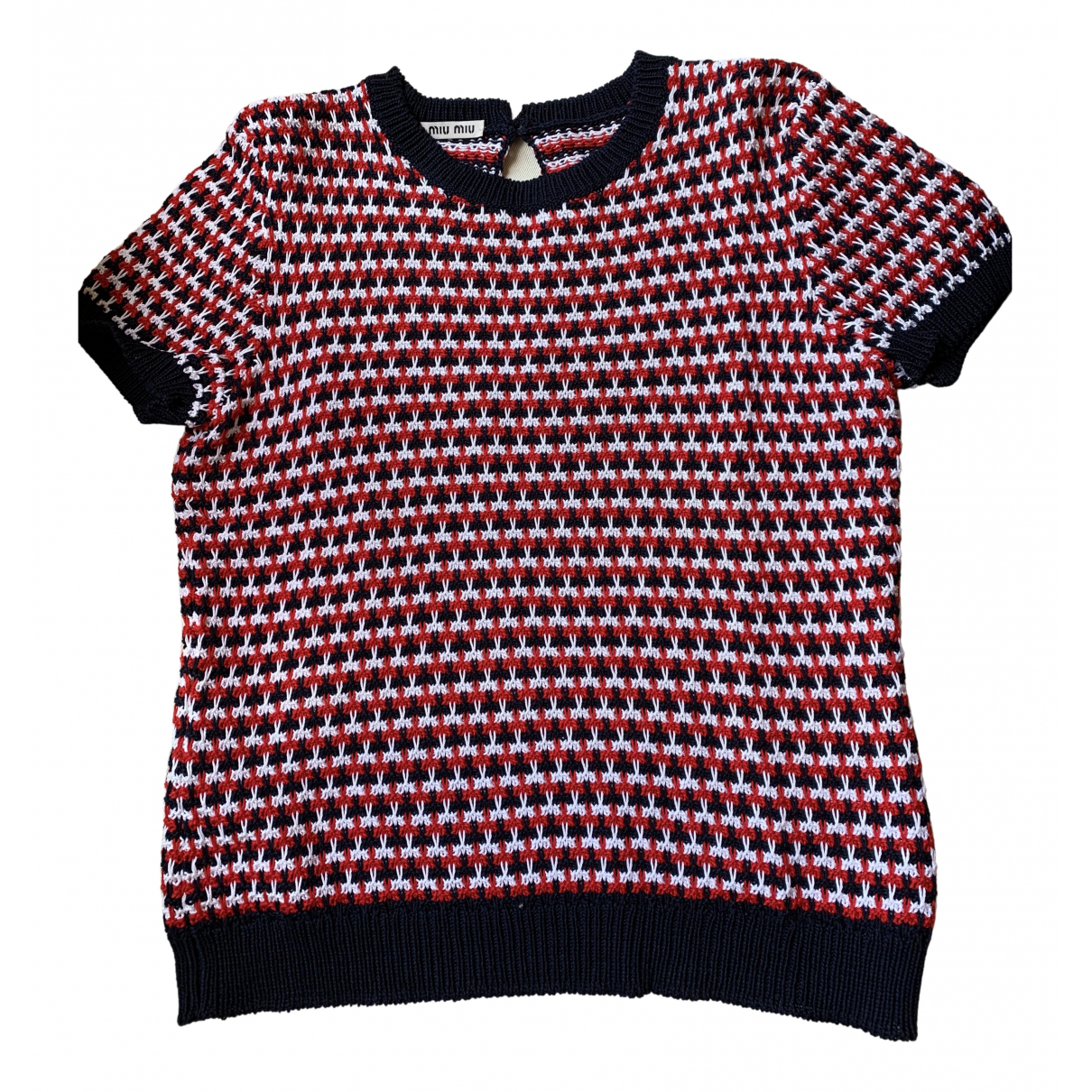 Miu Miu N Multicolour Cotton Knitwear for Women 40 IT