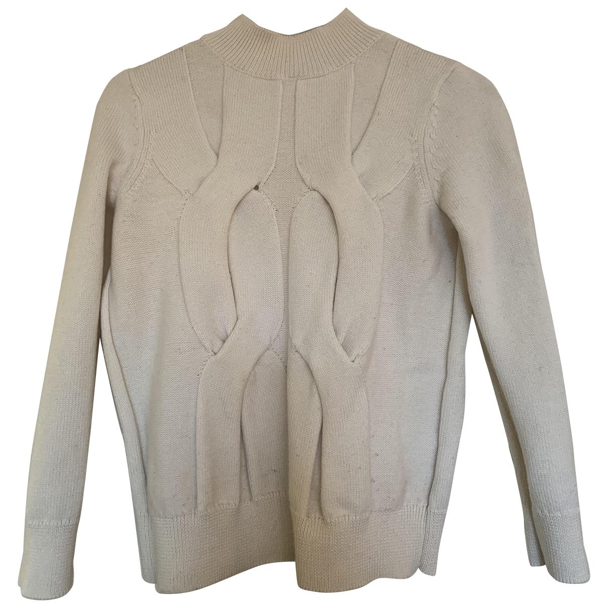 Cos \N White Wool Knitwear for Women 6 UK