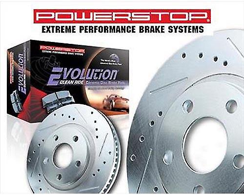 Power Stop K3060 Z23 Evolution Sport Performance Brake Kit Rear K3060