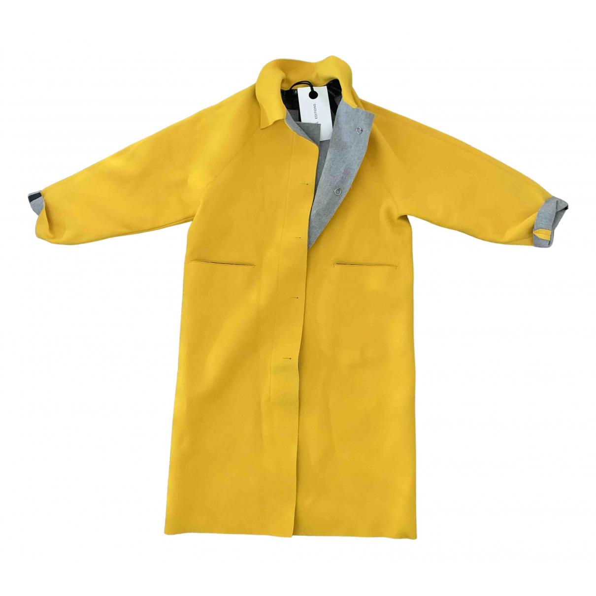 Kassl Editions - Manteau   pour femme - jaune