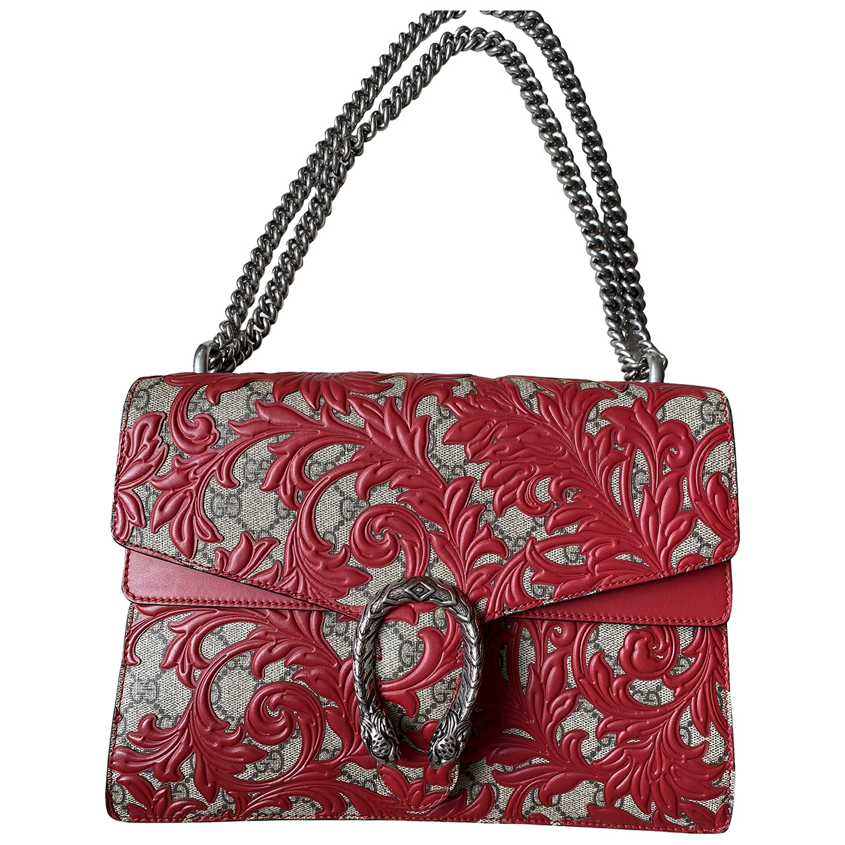 Gucci Dionysus Red Cloth handbag for Women N