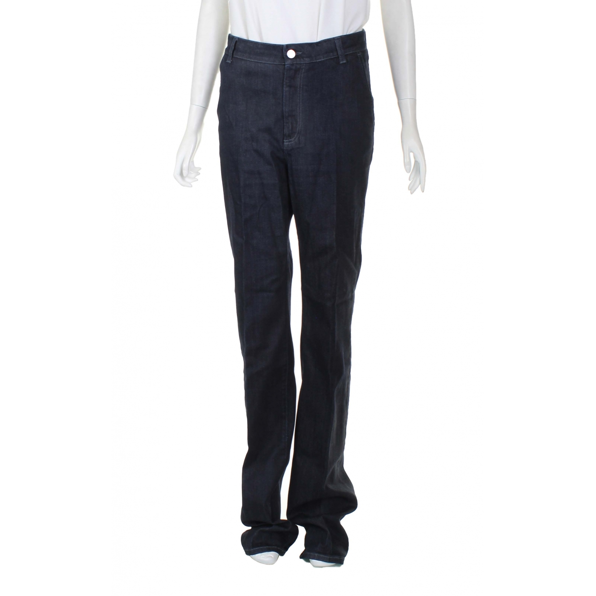 Stella Mccartney \N Black Denim - Jeans Jeans for Women 40 FR