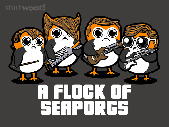 A Flock Of Seaporgs T Shirt